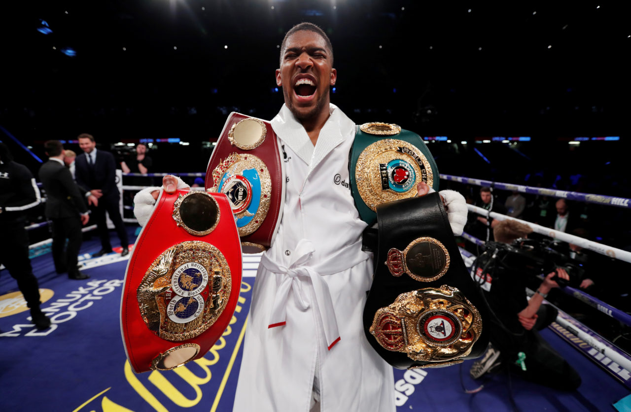 I Will Rule Boxing For 10 Years, Anthony Joshua Boasts