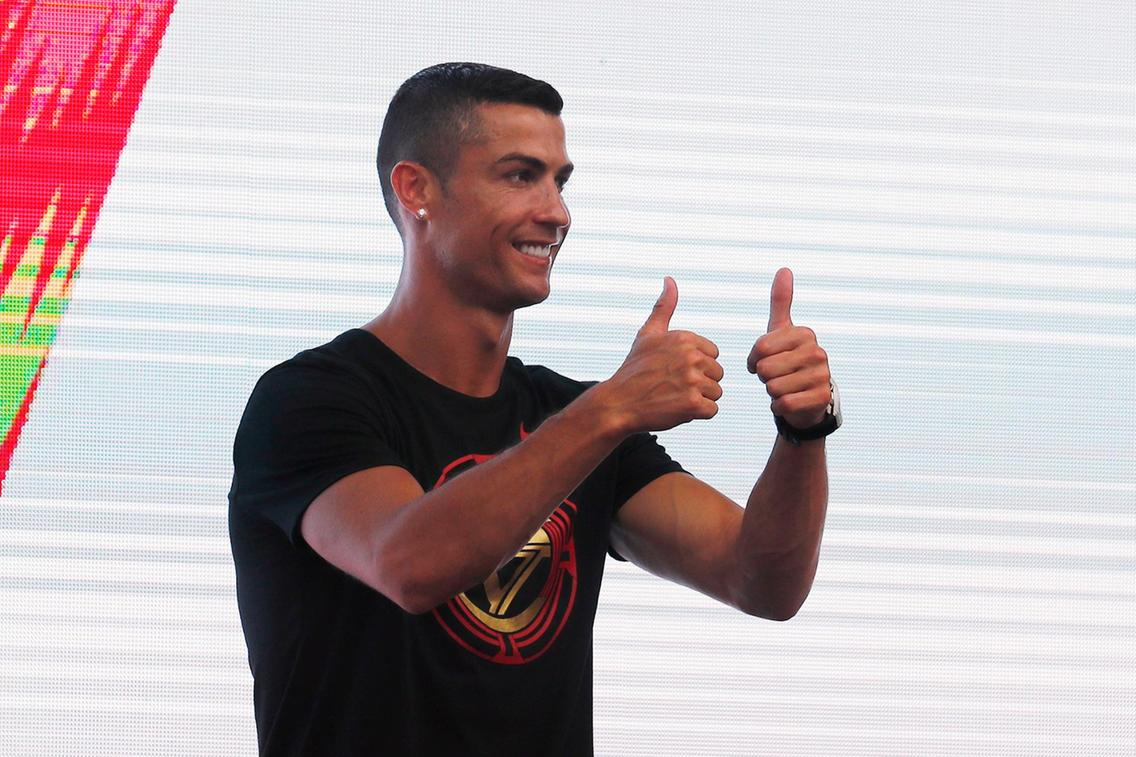 Fans Welcomed Ronaldo To China During His CR7 Tour Like This… See photos