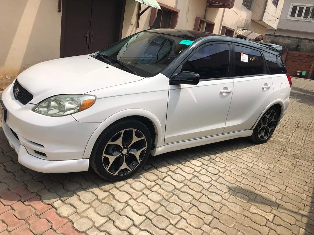 Clean tokunbo 2004 toyota matrix xr sport with 18inches wheels 1 like 1 share publicscrutiny Gallery