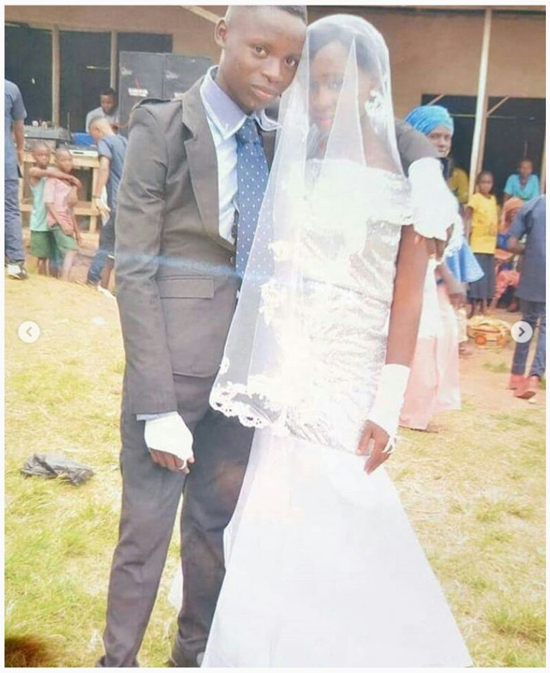 Photo Gallery Nigerian Wedding: 19-Year-Old Nigerian Students Get Married To Each Other