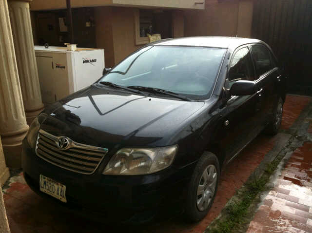 For Sale  A Very Clean Nigerian Used Toyota Corolla Xli