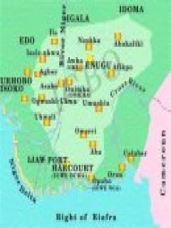 Picture of new biafra map covering phcalaberigalaedo and idoma the new biafra map extended to the sea covering porthacourcalaber edo igala and idoma ccuart Choice Image