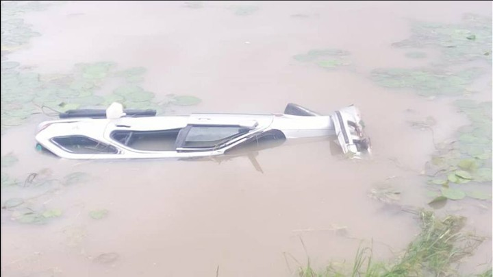 Vehicle Plunges Into A River In Katsina State