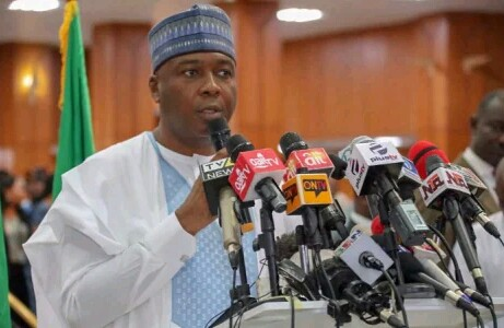 BREAKING !!!:   Saraki Has This To Say About Akpabio's Defection To APC