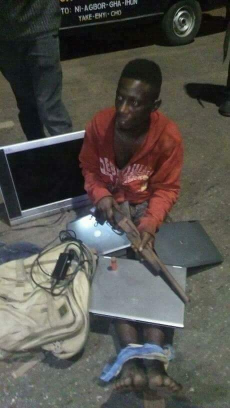 Notorious Armed Robber, Okamgbu Arrested With Stolen Items