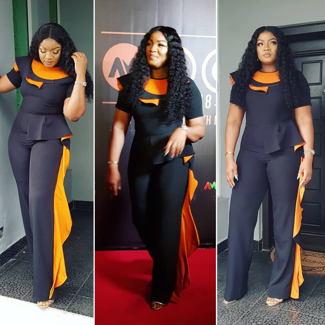 HOT UKWU !!!: Omotola Jalade-Ekeinde Steps Out For 2018 AMVCA Nominees Cocktail Party