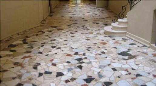 Marble Terrazzo Floor Restoration And Polishing