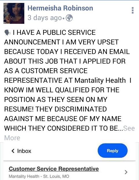 Woman Denied Job Because Of Her Ghetto Name (photos) - Jobs