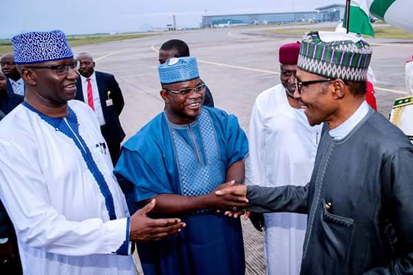 Image result for Buhari returns to Nigeria after 10-dy vacation in UK