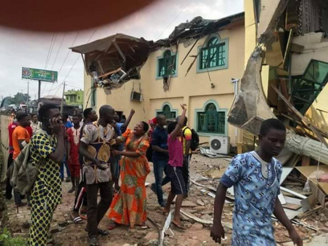 Image result for Yinka Ayefele Fresh FM Is Currently Being Demolished