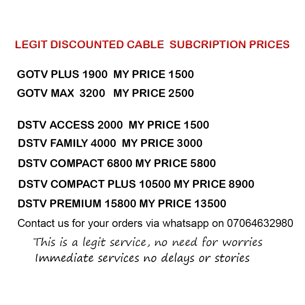 Discounted Cable TV packages and prices for everyone