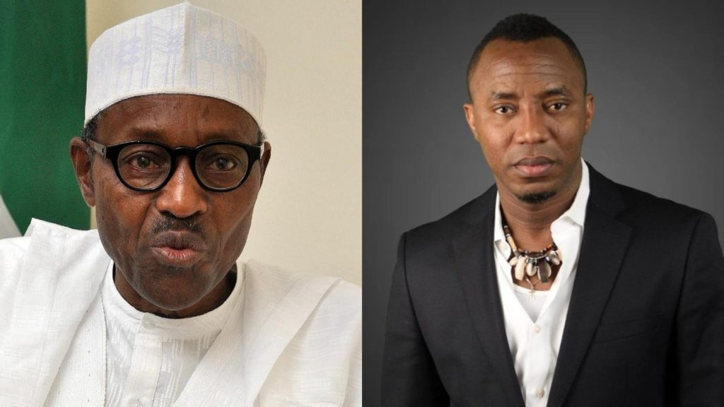 SHOCKING !!!:  Presidential Aspirant Sowore Challenges Buhari To A Debate