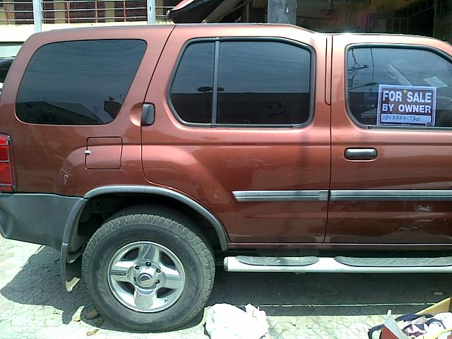 very sound nissan xterra 2002 model american spec for sale. Black Bedroom Furniture Sets. Home Design Ideas