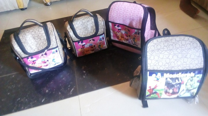 fb3e8e46d1e0 Children And Adult School Bags In Ibadan And Nationwide Delivery ...