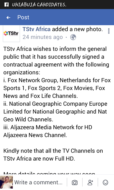 Tstv Sign Contractual Agreement With Fox, Aljazeera And NGW