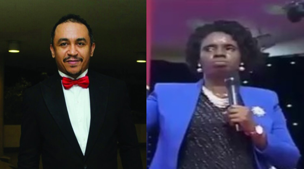 SHOCKING !!!:   Daddy Freeze Calls Out Female Pastor Asking Members To Give N21K