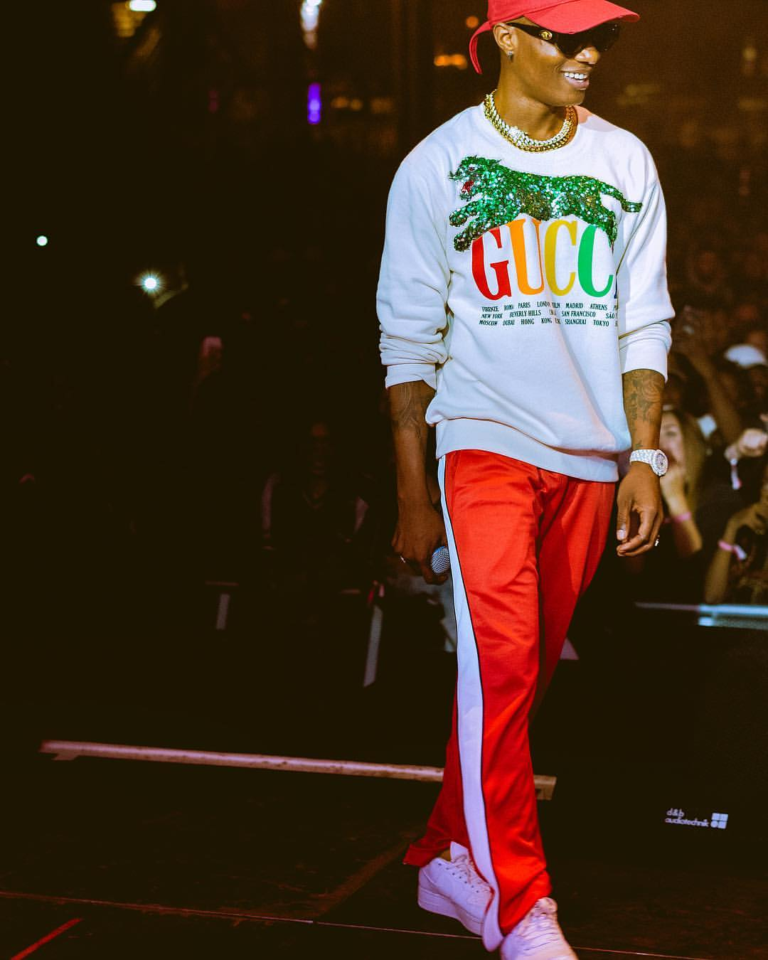 Photo Of Wizkid Performing At Hype Festival In Germany