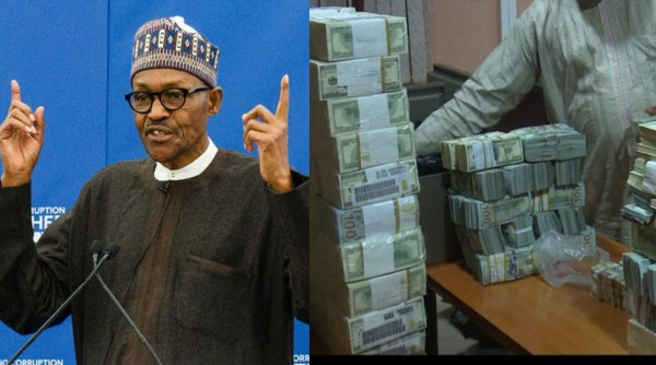 SHOCKING !!!:   Presidency Speaks On Buhari Using Recovered Loot To Fund Re-Election