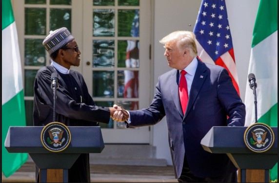 BREAKING !!!:  PDP Reacts To Donald Trump's 'Lifeless' Comment About President Buhari.