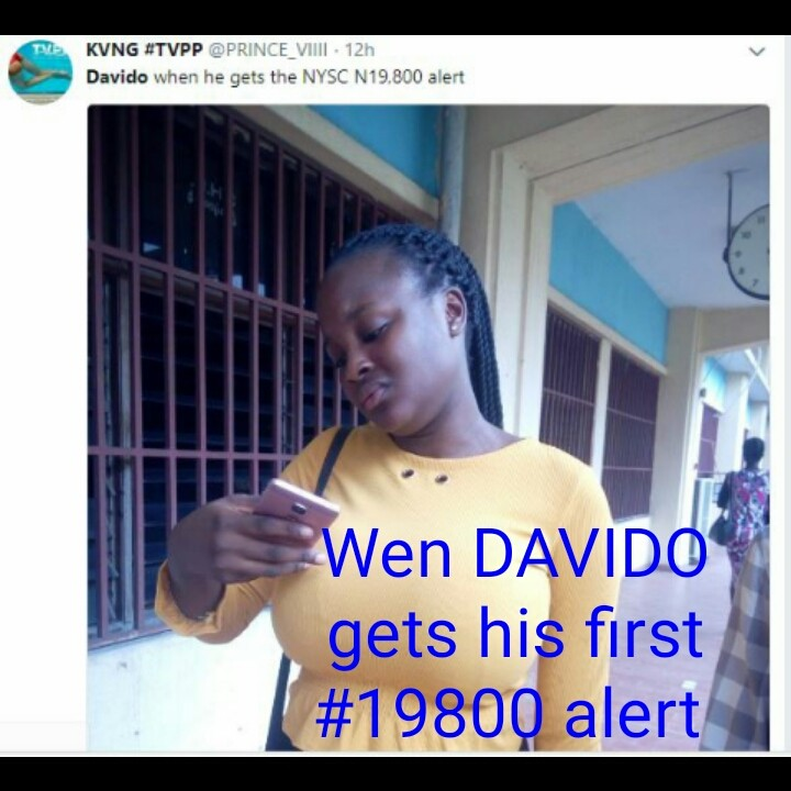 funny meme collections on davido nysc adventure nairaland