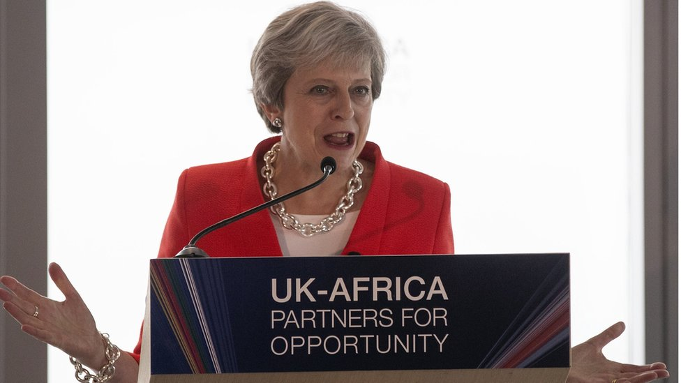 BREAKING !!!:  Theresa May Speaks After Visit To Nigeria