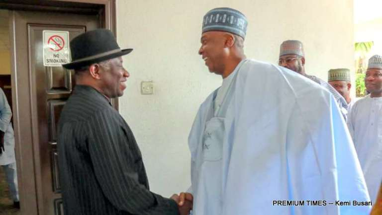 BREAKING !!!:   'If Not For Saraki, National Assembly Would Have Been In Chaos' – Goodluck Jonathan