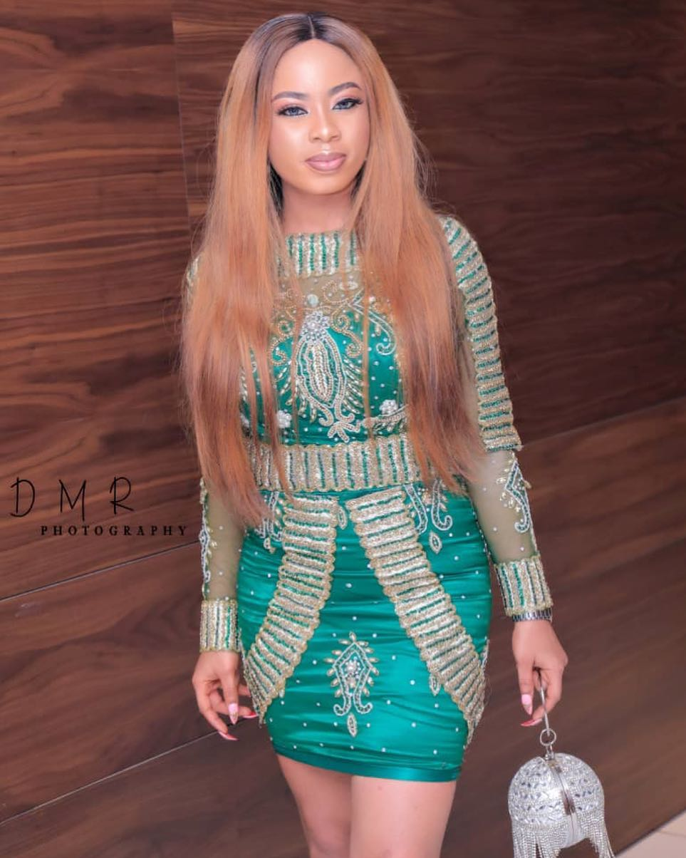 """He Slays Better Than Some Girls"" - Toyin Lawani Belittles Nina After Unfollowing Her (PHOTO)"