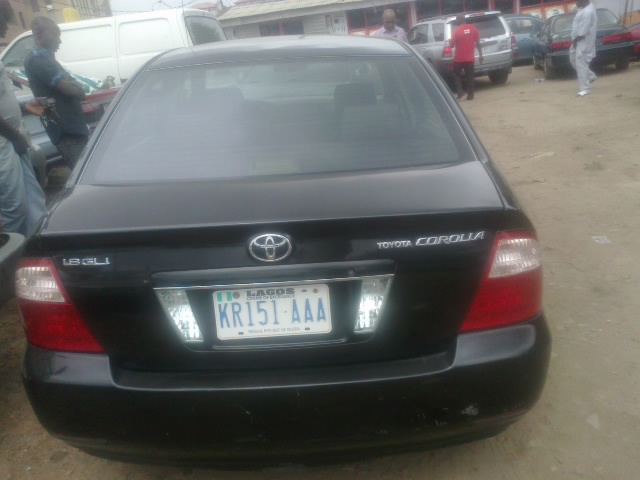 very neat 2006 toyota corolla 1 8 gli for sale 1m auto drive sold sold sold autos nigeria. Black Bedroom Furniture Sets. Home Design Ideas