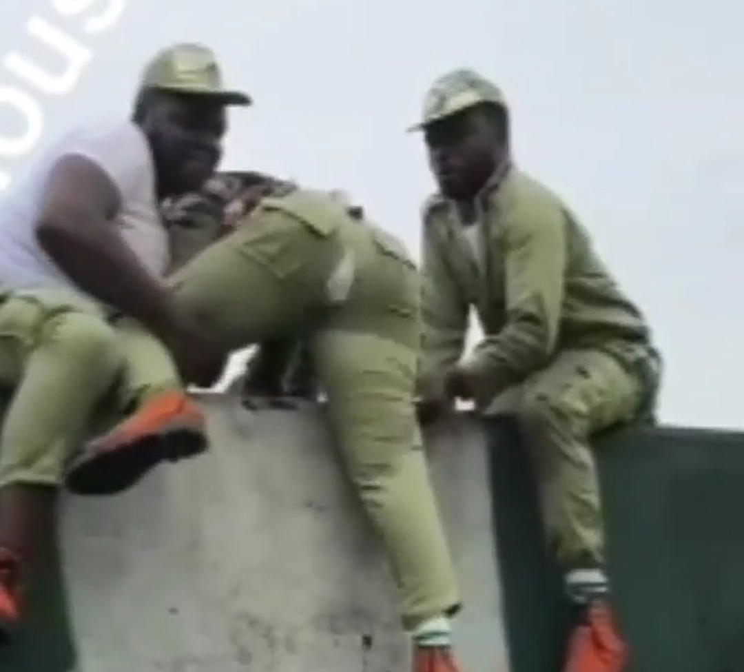 NYSC Camp Fmale Corper Trouser ripped