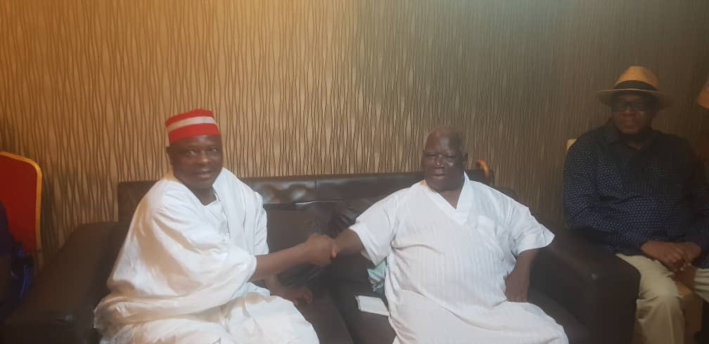 Kwankwaso Visits Edwin Clark, Condemns Invasion Of His ...