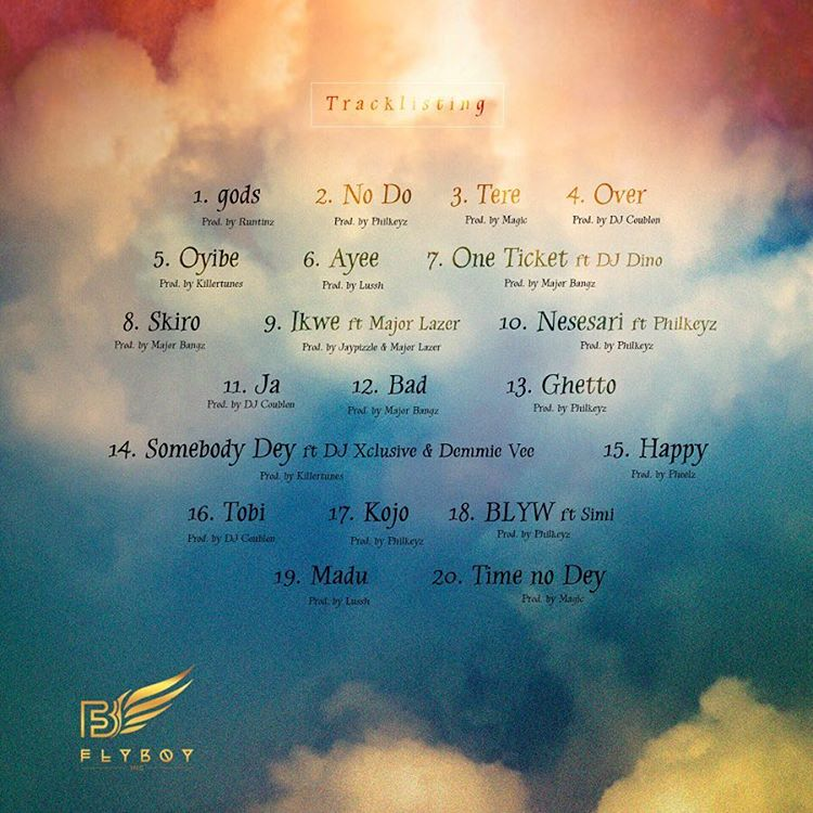 Image result for kizz daniel no bad songz tracklist