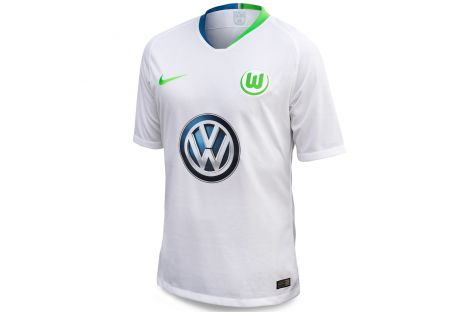 the best attitude c80ee 78c5c Original And Official 2018/19 Season Jersey Of Wolfsburg Fc ...
