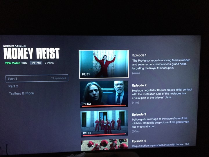 Money Heist Season 2 How Many Episodes