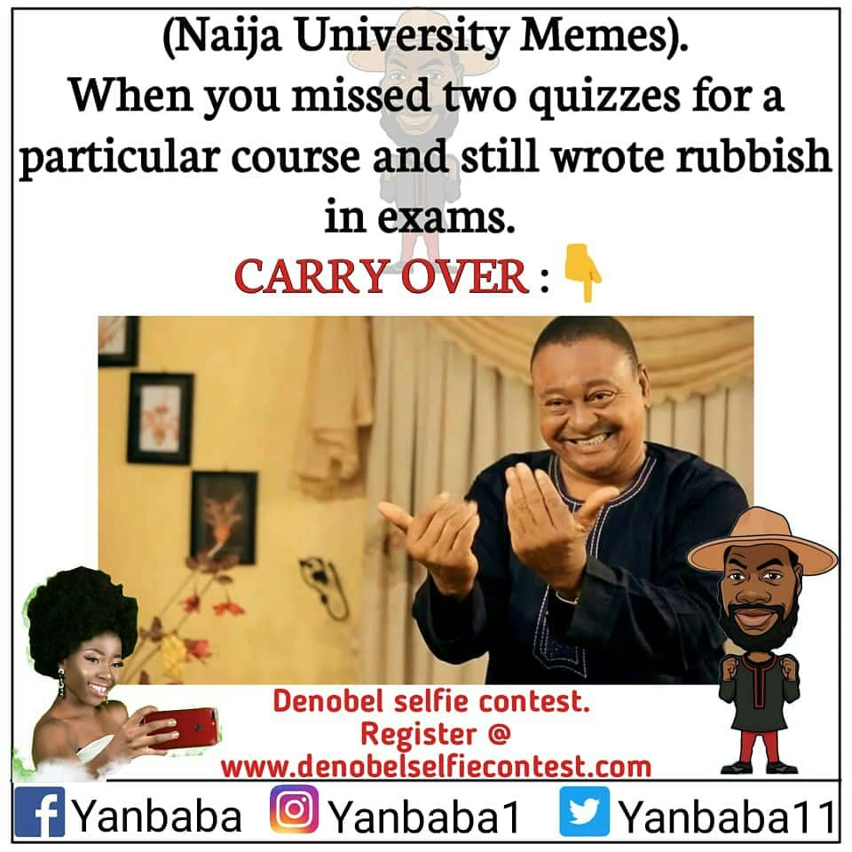 university students in Nigeria also have carryover issues