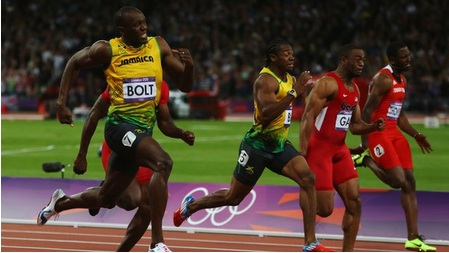Usain Bolt Wins Gold In Men's 100m At 2012 Olympics ...