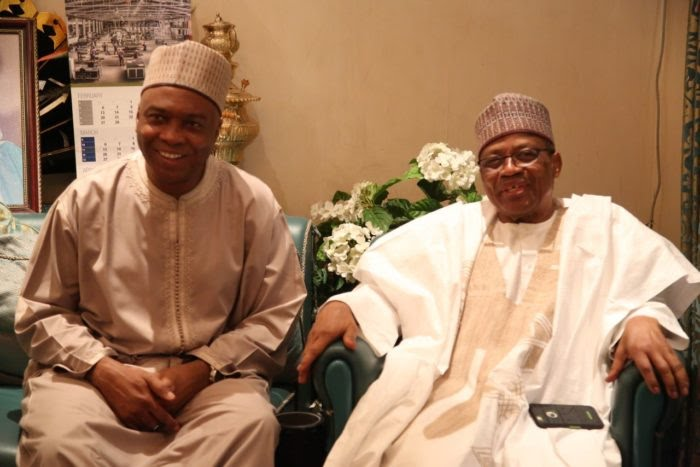 Image result for I'll do to you what your father did to me – Babangida tells Saraki