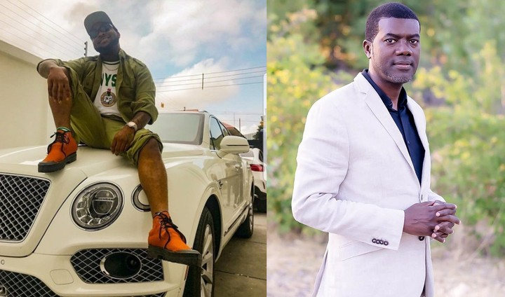 Image result for Reno Omokri says Nigerians are hypocritical for Accusing Davido of flouting NYSC rules