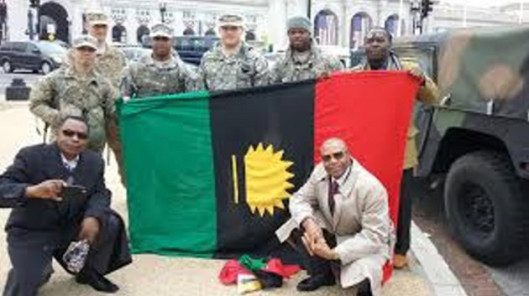 Latest News Polictice IPOB Members Over Whelmed With Joy