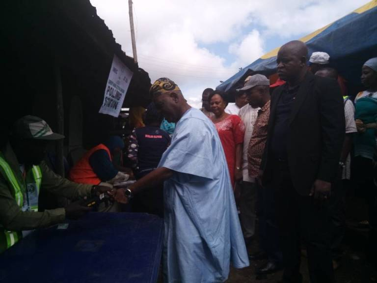 Osun Election: PDP Floors APC In Bisi Akande's Polling Unit