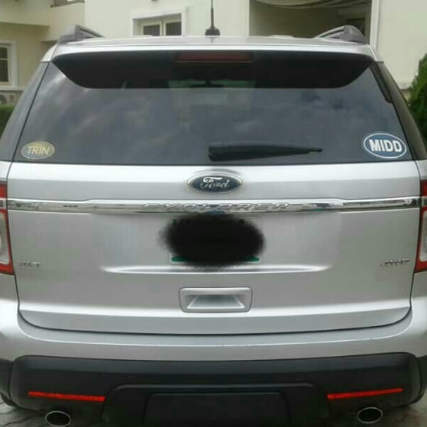 Urgent Sale Ford Explorer 2013 Naija Used 4.5million