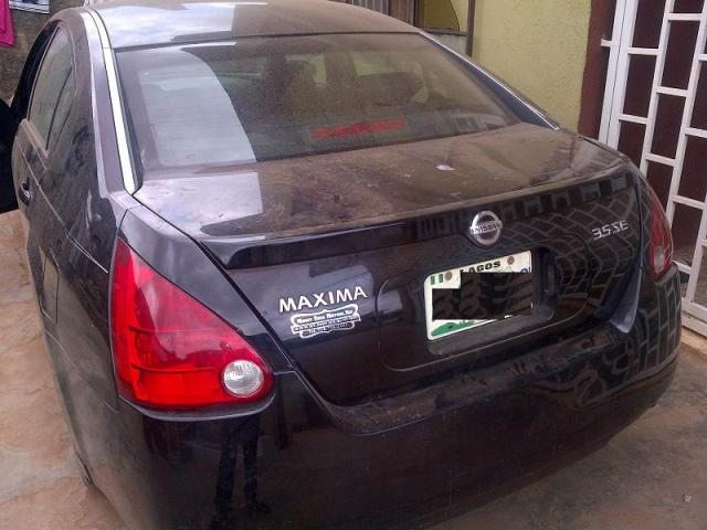 05 nissan maxima for sale give away price autos. Black Bedroom Furniture Sets. Home Design Ideas