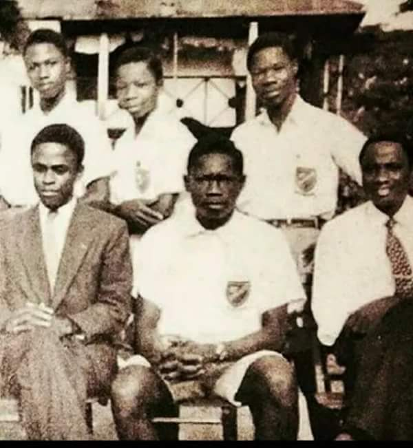 SEE THROWBACK PICTURE OF MKO ABIOLA & OBASANJO IN SECONDARY SCHOOL