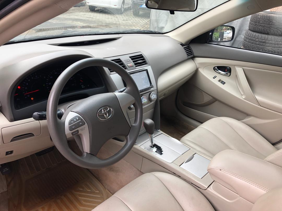 A Super Clean Foreign Used 2011 Toyota Camry Le For Sale N34m Interior Lagos Cleared Good Mileage Centre Screen Very Sound Engine Legs Ac Chilling Are In Excellent Condition