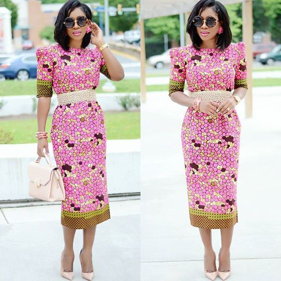 Fitted Ankara Short Gown Styles 2018 October Fashion Nigeria