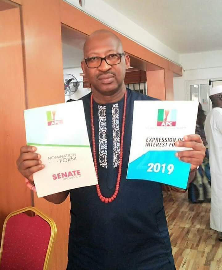 Image result for Patrick Obahiagbon Wins APC Senatorial Ticket