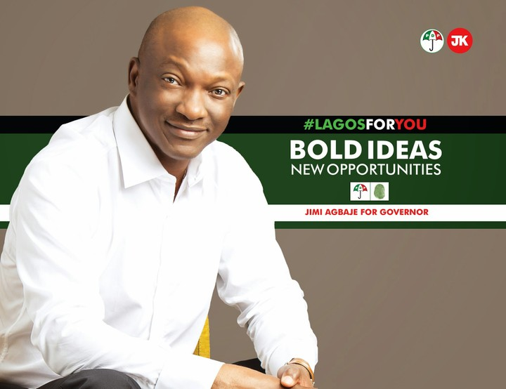 Image result for Jimi Agbaje wins Lagos PDP Governorship Primary