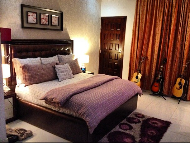 Pictures Of Peter Psquare S Beautiful Bedroom