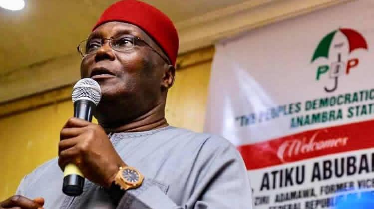 Image result for Atiku gives N20m to victims