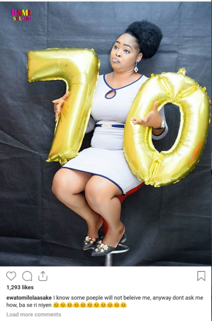 Nigeria Slay Mama and Actress Celebrates 70 Year Old Birthday as Fans Reacts
