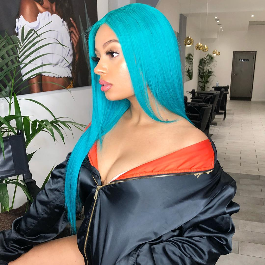 Tekno Baby Mama, Lola Rae Gets IG on Fire as She Shows Her B00bs and Hot Body
